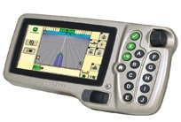 Het GreenStar 2 1800-display