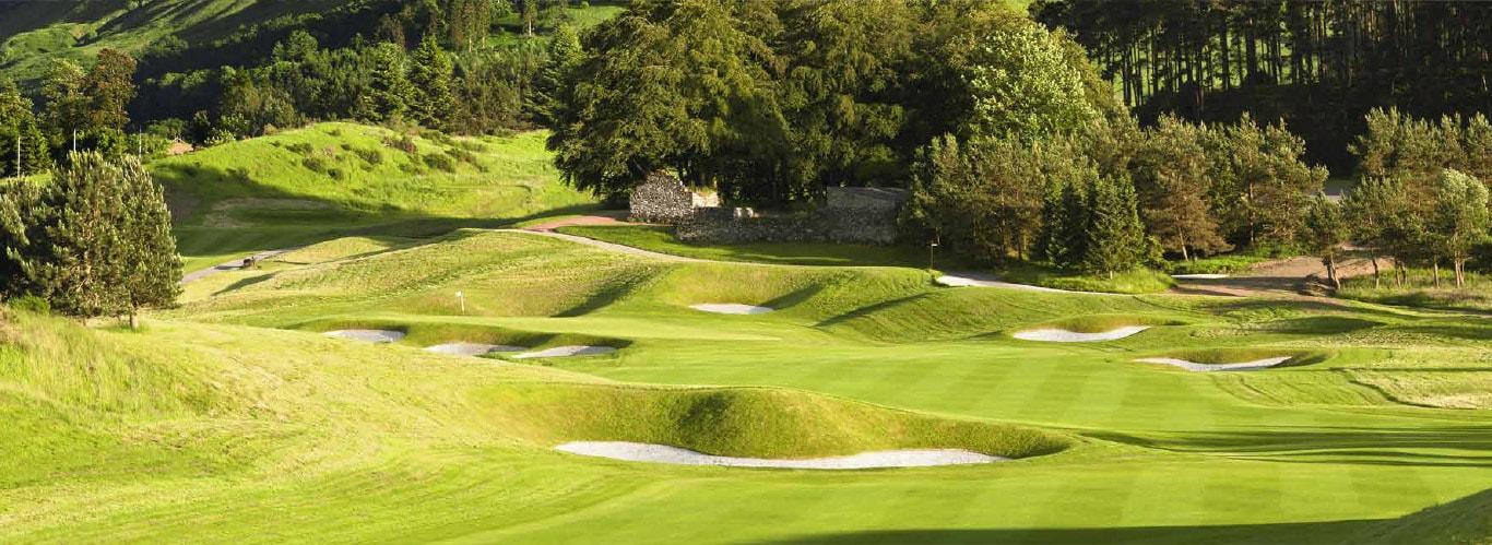 Gleneagels, golfbaan