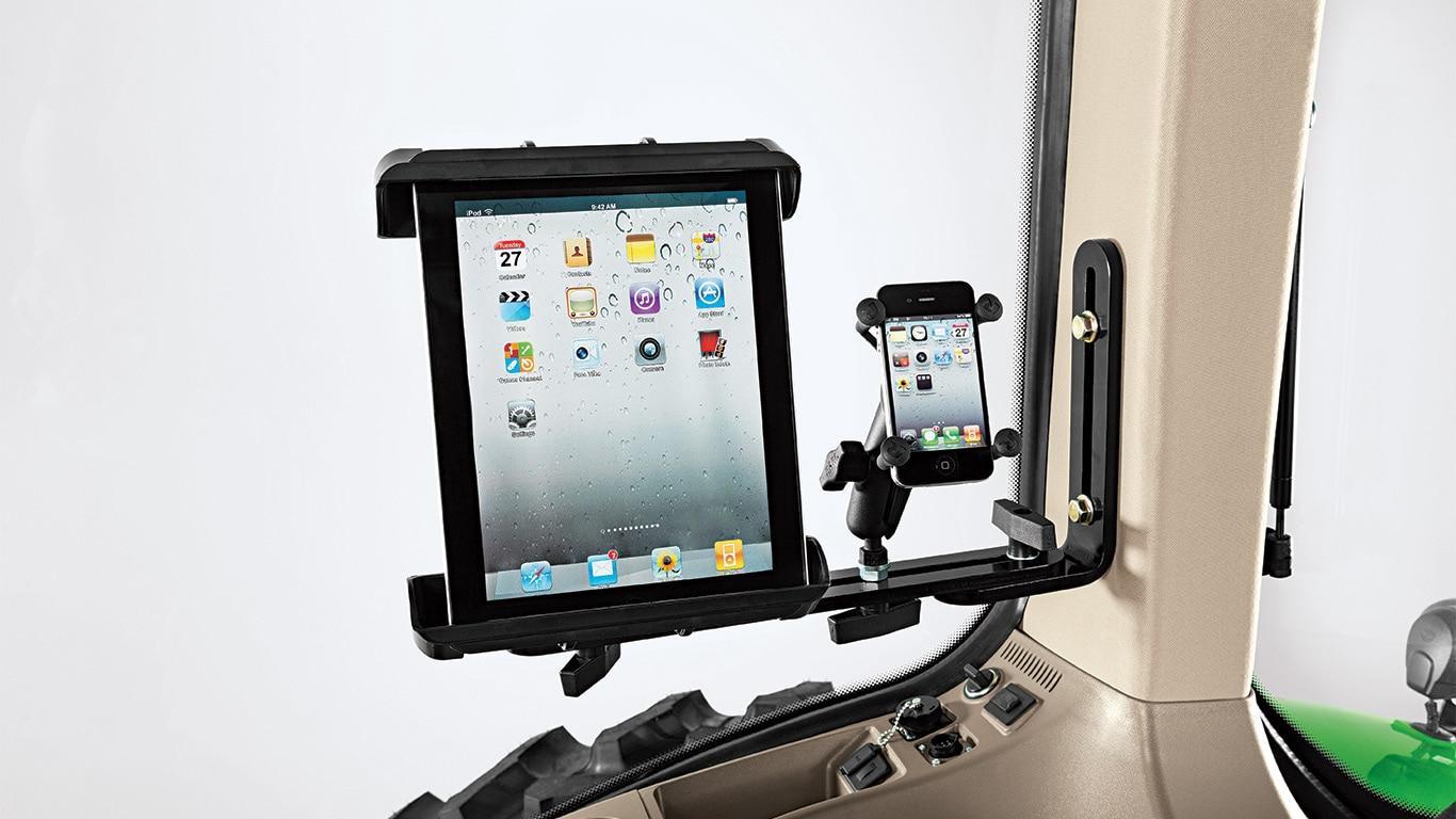 Tablet- & mobiele toestelhouder