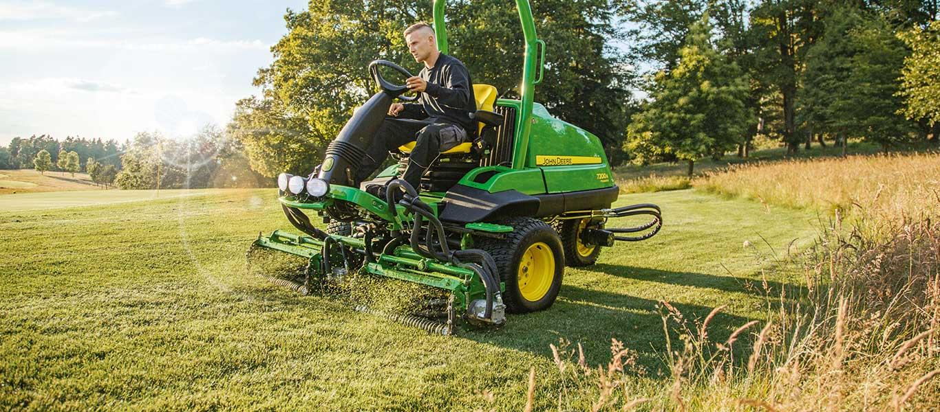 7200A, Zitmaaiers voor randen surrounds en roughs, Veld, Golfbaan, Golf en sport