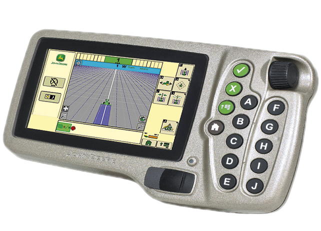 John Deere GreenStar 2 display 1800